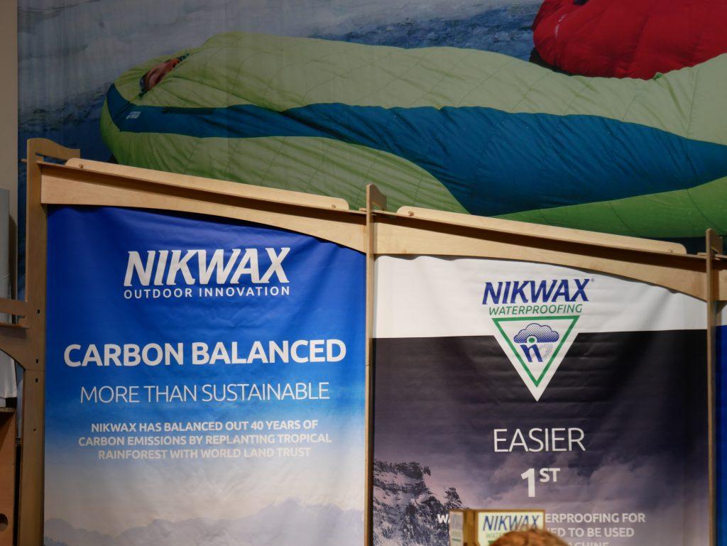 Nikwax sport sostenibile abbigliamento da montagna sostenibile