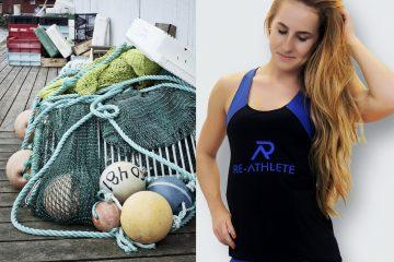 Plastica in mare? Magliette e pantaloni per lo sport sport sostenibile