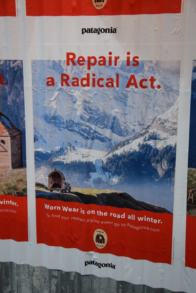 patagonia repair is a radical act sport sostenibile