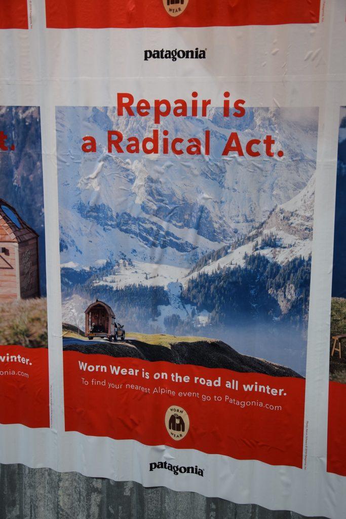 patagonia repair is a radical act sport sostenibile