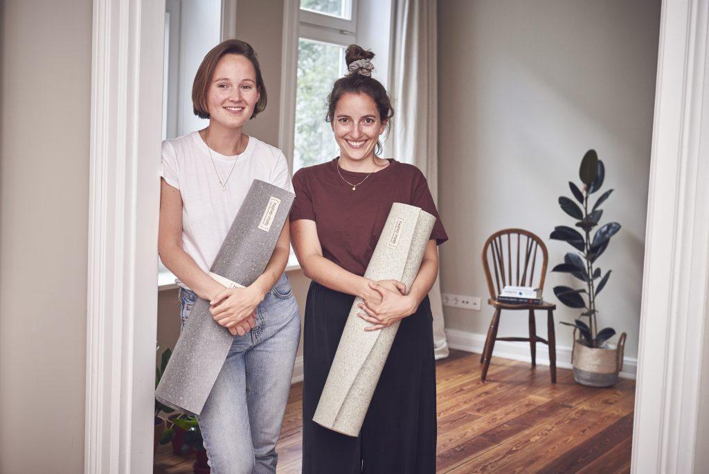 tappetini yoga da materiali riciclati sport sostenibile