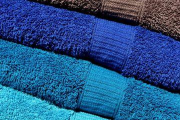 Asciugamani in cotone biologico sostenibile