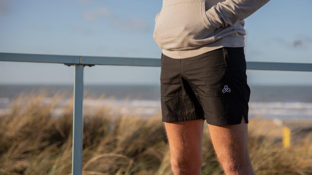 pantaloncini sportivi sostenibili